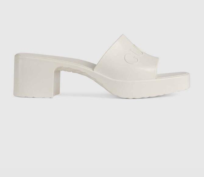 Gucci Rubber Slide Sandal