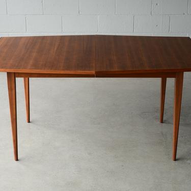 Kipp Stewart Dining Table for Calvin Mid-Century Modern Walnut by MadsenModern