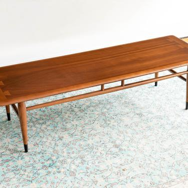 Vintage Mid Century Lane Acclaim Petite Rectangular Coffee Table by blinkmodern