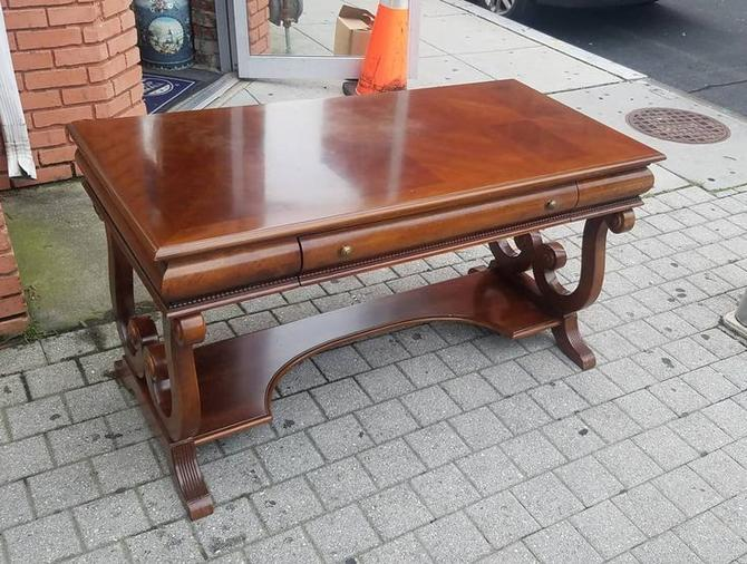 Single Drawer Library Table,