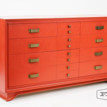 Hollywood Regency James Mont Style Dresser