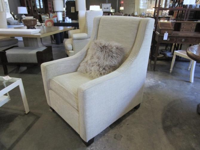 PAIR OF TRANSITIONAL UPHOLSTERED CLUB CHAIRS PRICED SEPERATLEY