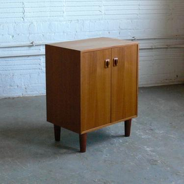 Danish Teak Cabinet // Stereo Cabinet Attributed to Poul Hundevad by CoMod