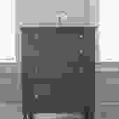 Tall Gray Dresser