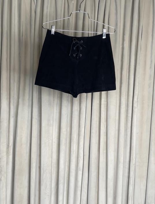 Vintage Express Shorts w/ Tie Detail