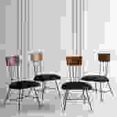 Set of 4 Dining Chairs by Richard McCarthy for Selrite