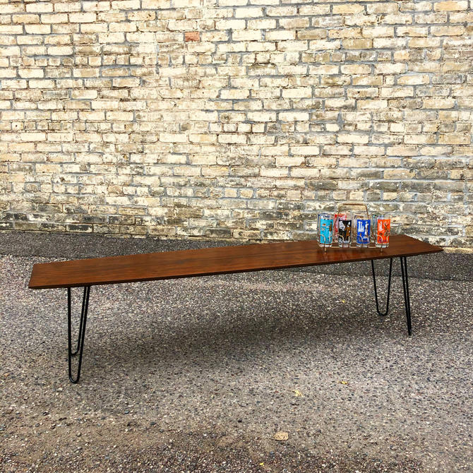 Walnut Surfboard Coffee Table