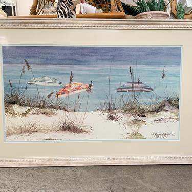 Beach Umbrellas by Jennifer Ardolino