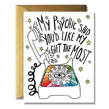 Psychic Bday Card