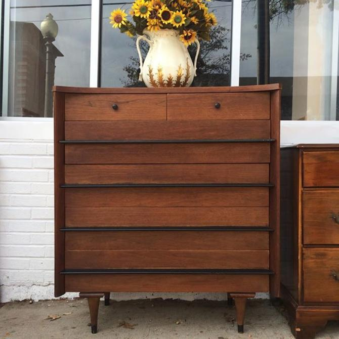 American Of Martinsville MCM Chest Of Drawers From