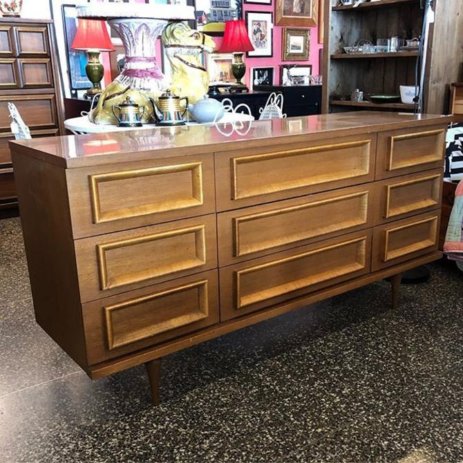 MCM 9 drawer dresser- $525!