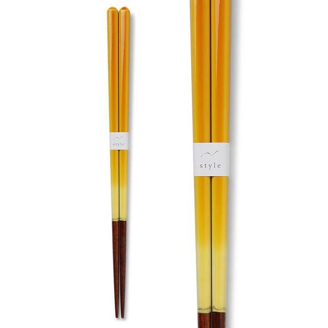 Yellow Ombre Chopsticks