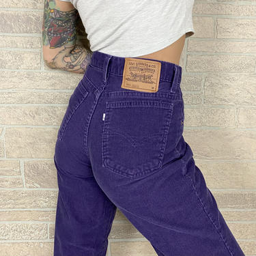 Levi's 910 Corduroy Pants / Size 28 by NoteworthyGarments