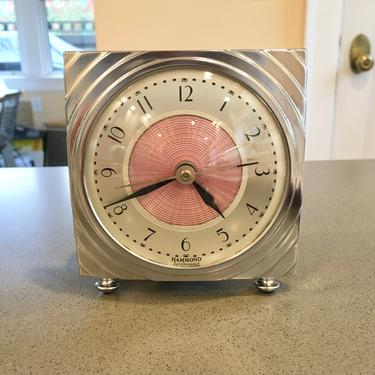 1933 Hammond Gloria Synchronous Electric Clock by Deco2Go