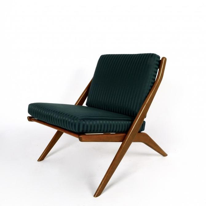 "Folke Ohlsson ""Scissor"" Lounge Chair"