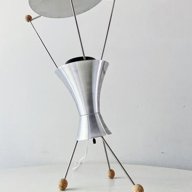 Scarce James Harvey Crate T-3-C adjustable table lamp reissue of the 1951 MOMA winner of low cost lighting design Signed by CaribeCasualShop