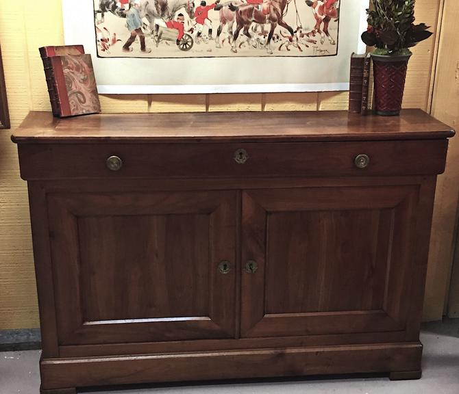 Antique French Louis Philippe Style Buffet Sideboard