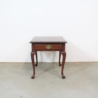 Pennsylvania House Cherry Queen Anne End Table with Drawer by AnnexMarketplace