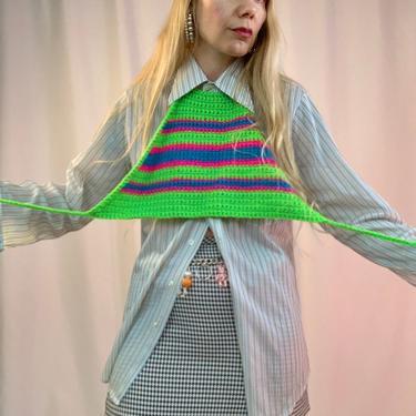 Sheer stripe 70's mens shirt by shopjournal