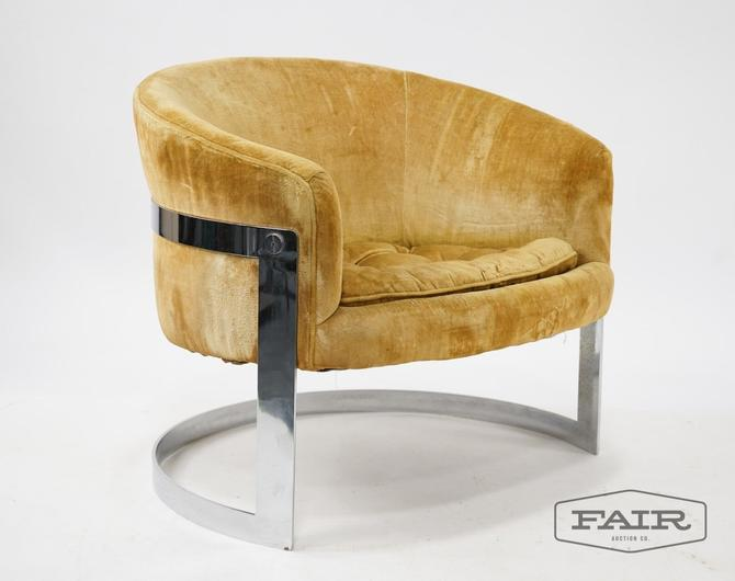 Milo Baughman Style Lounge by Flair: Bernhardt