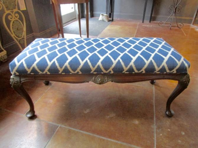ANTIQUE FRENCH PROVINCIAL BENCH