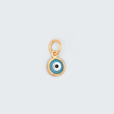 Round Evil Eye Charm
