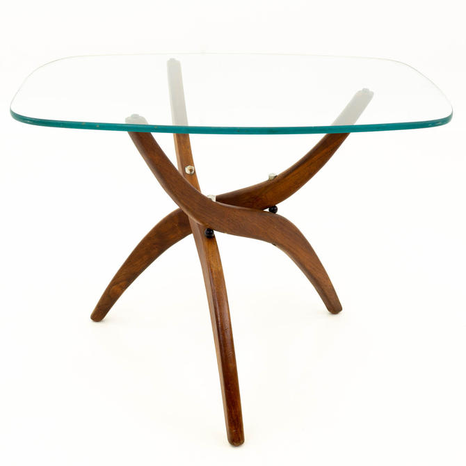 Adrian Pearsall Vladimir Kagan Style Forest Wilson Mid Century Modern Side End Table - mcm by ModernHill
