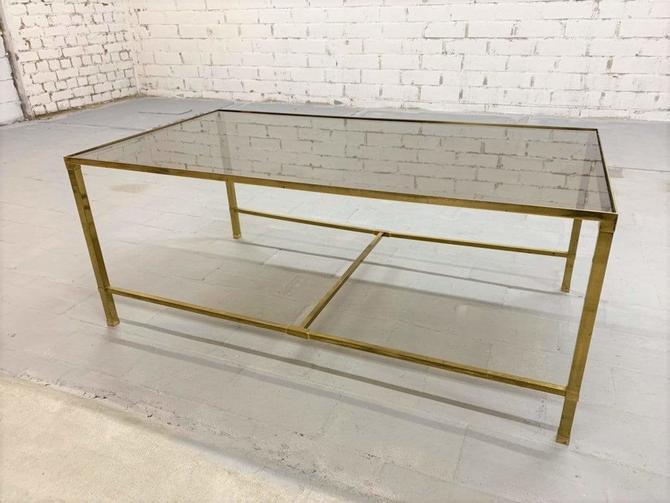 Vintage Mid-Century Modern Italian Designer High End 1970s Coffee Table