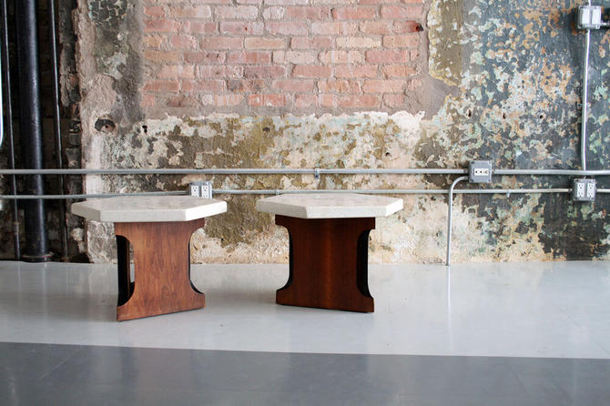 Pair of Tables by Harvey Probber