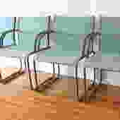 Mid Century Modern Knoll Arm Chairs by Richard Schultz