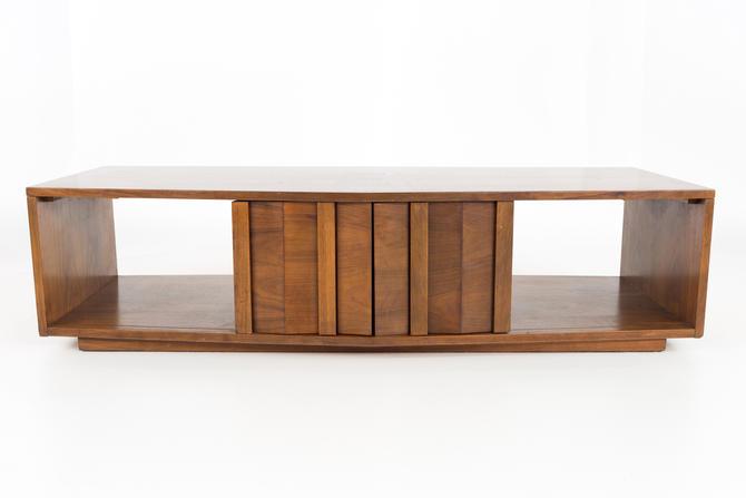 Lane Walnut Mid Century Coffee Table - mcm by ModernHill