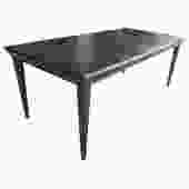 Elegant Cerused Dining Table by Paul Frankl