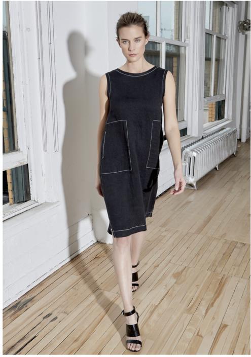 Scarlett Linen Dress