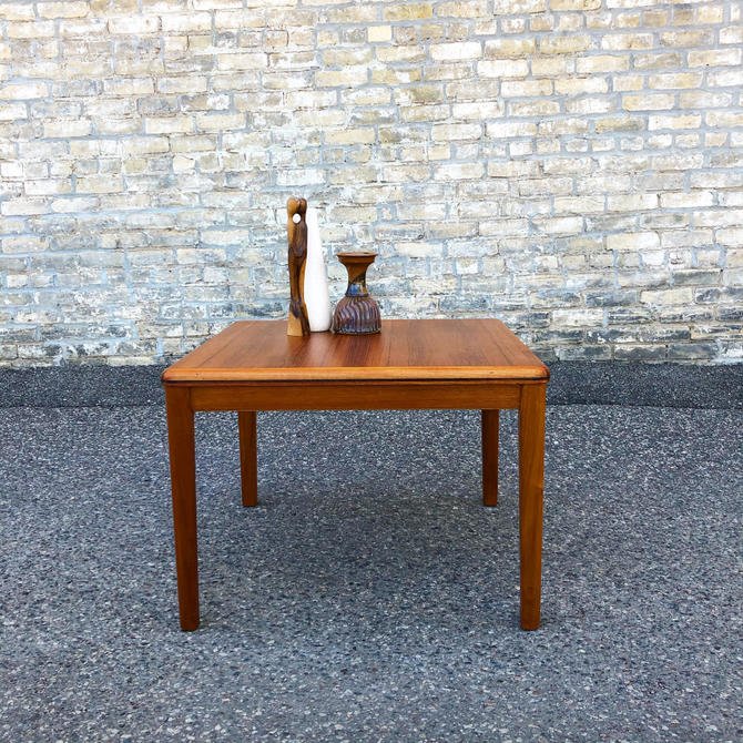 Danish Modern Square Coffee-accent Table