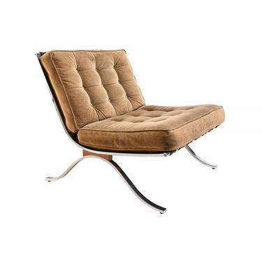 Selig Barcelona Style Chair Mies van der Rohe Chair by HearthsideHome
