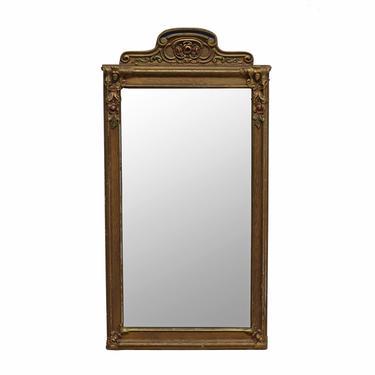 1920's Polychrome Gesso Mirror