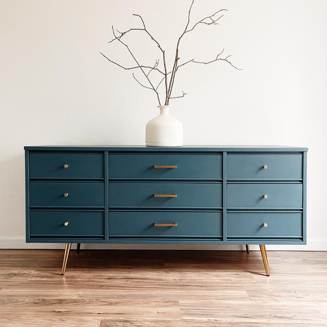 MCM 9-Drawer Dresser by madenewdesignct