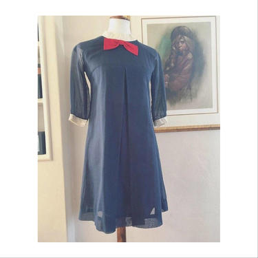 1960's cotton mini day dress by MamaTequilasVintage