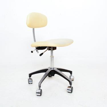 Mid-Century Modern Industrial Adjustable Office Desk Chair Saarinen Knoll by AMBIANIC