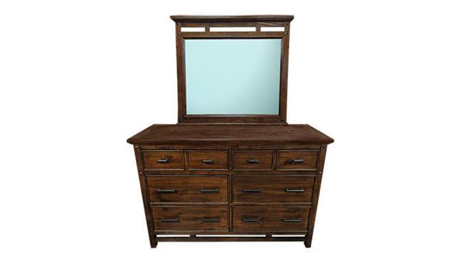 Traditional Dresser w/ Mirror