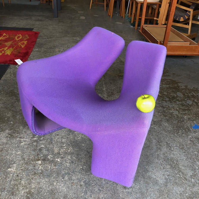 HA-C8471 DIY Purple Vernon-Panton style Chair Frame