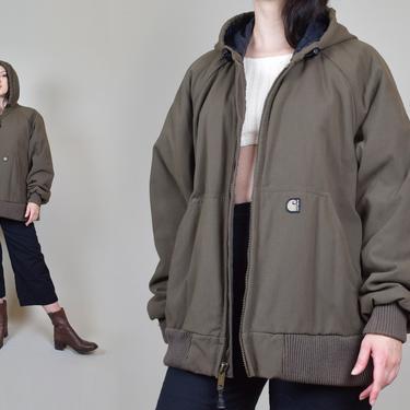 Vintage Carhartt Hooded Jacket | Vintage Carhartt Jacket by WisdomVintage