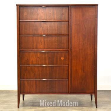 Foster McDavid Walnut Armoire Dresser by mixedmodern1