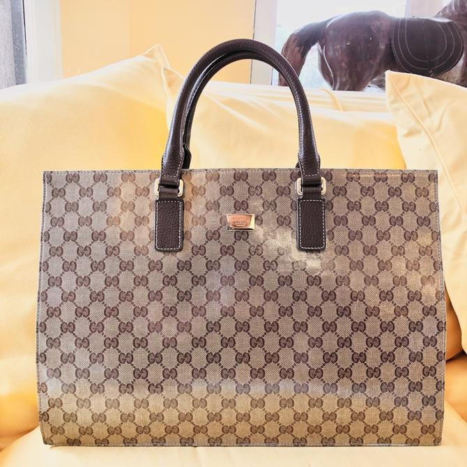 Gucci Hard-Sided Tote