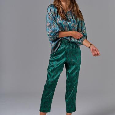 Julia Pant | Emerald Lace