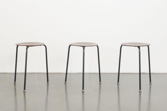Arne Jacobsen Stacking Stools by HomesteadSeattle