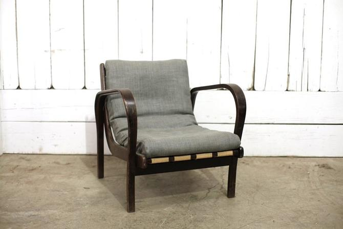 Grey Linen Chair Pair