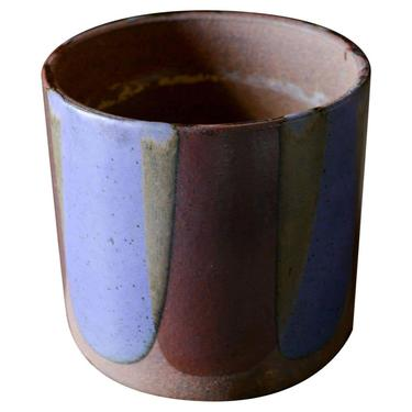 Flame Glaze Planter by David Cressey for Architectural Pottery Pro\/Artisan, 1970