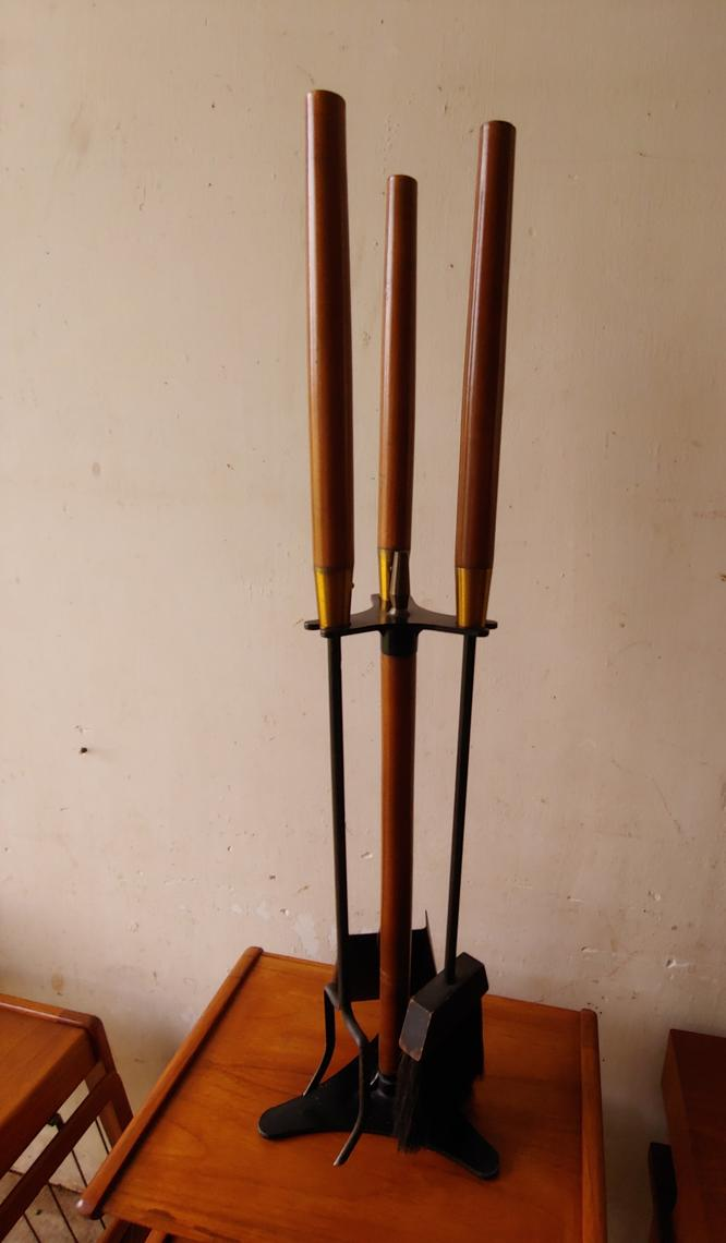 Mid Century Modern Fireplace Tool Set By Seymour Mfg Co Modandozzie From Mod And Ozzie Of Annapolis Md