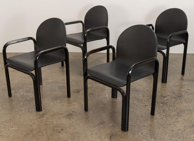 Gae Aulenti For Knoll Model 54A Dining Chairs by openairmodern